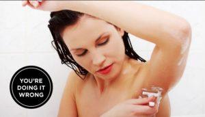 6 Tips για να ξυρίσεις αποτελεσματικά τις μασχάλες σου!