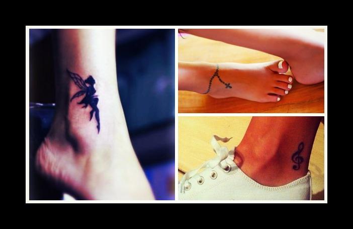 24 Μοναδικά γυναικεία τατουάζ για τον αστράγαλο!