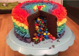 τούρτα-σμάρτις-παιδική