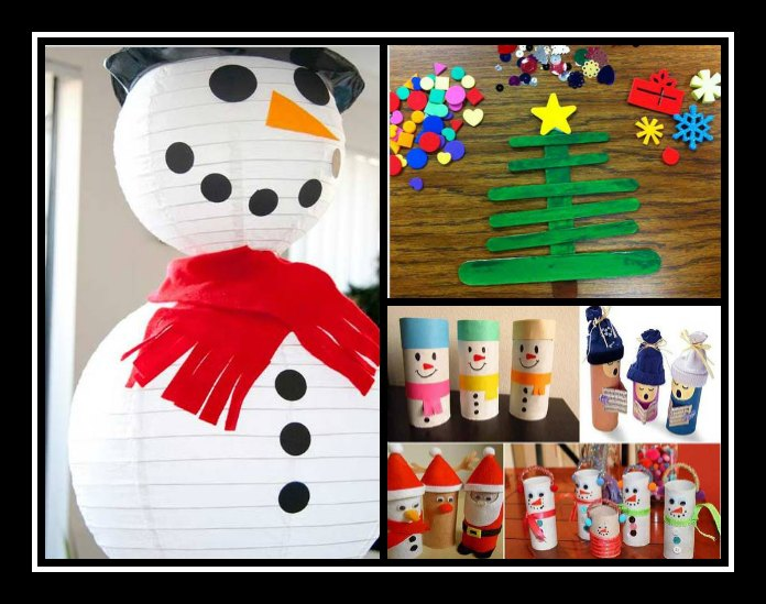 4 Εύκολες κατασκευές από χαρτί για τα Χριστούγεννα!