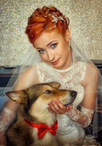 χτένισμα-νύφης-κοντά-μαλλιά