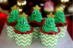 cupcakes xristougenniatika dentra