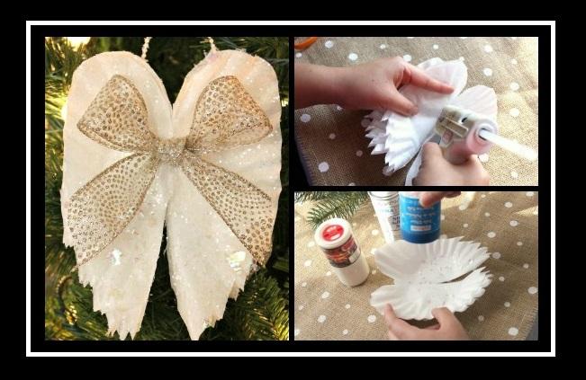 Χριστουγεννιάτικα στολίδια: Φτιάξε φτερά αγγέλου από φίλτρο καφέ!