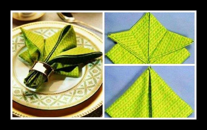 7 Τρόποι να διπλώσεις τις πετσέτες για το Χριστουγεννιάτικο τραπέζι!