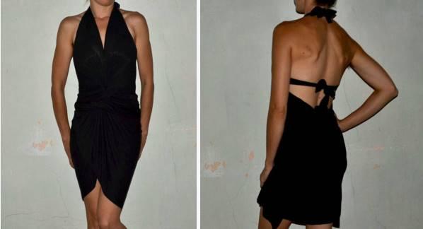 Φτιάξε μόνη σου φόρεμα χωρίς ράψιμο!