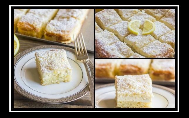 Εύκολες συνταγές: Φτιάξε κέικ λεμόνι με τυρί κρέμα!