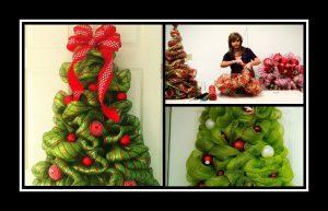 Φτιάξε μόνη σου ένα υφασμάτινο χριστουγεννιάτικο δέντρο!