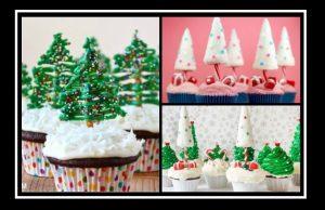 15 Όμορφες ιδέες για cupcakes Χριστουγεννιάτικα δέντρα!