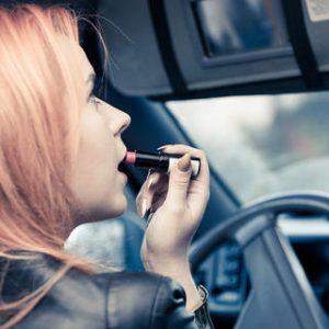 lipstick on road