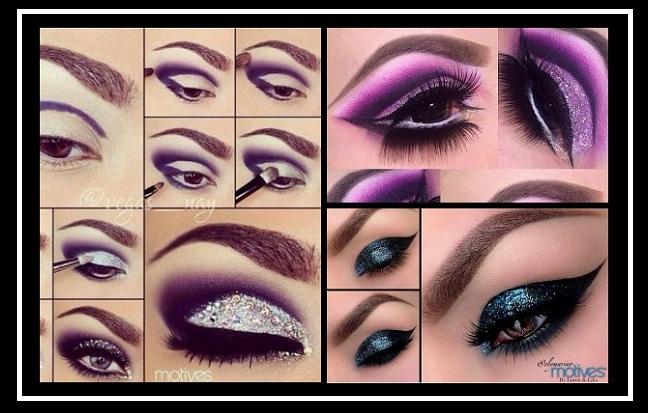 15 Υπέροχα glitter μακιγιάζ ματιών για το ρεβεγιόν!