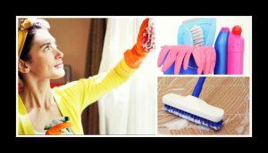 15 Συμβουλέςγια να καθαρίσεις το σπίτι σουεύκολα!