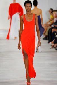 LR red dress