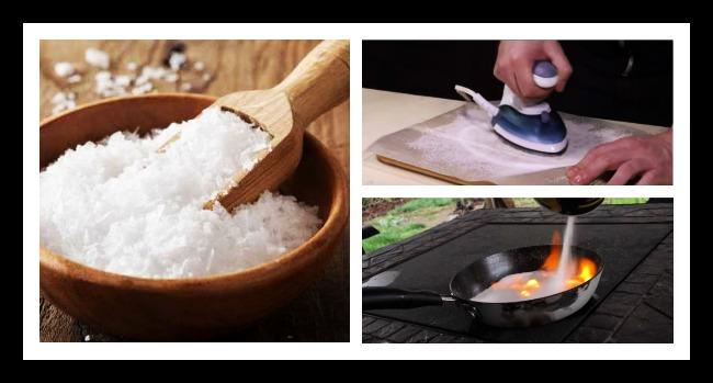 7 Κόλπα με αλάτι που κάθε νοικοκυρά πρέπει να ξέρει!