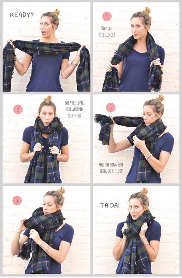blanket scarf how to wear