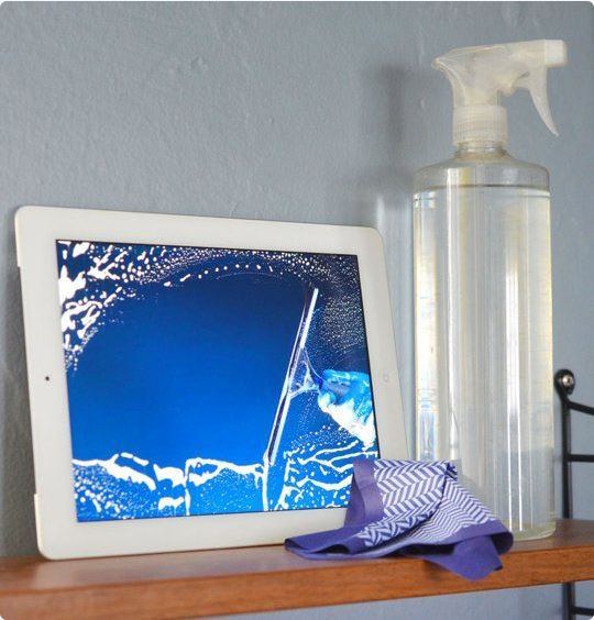 cleaning product for screens