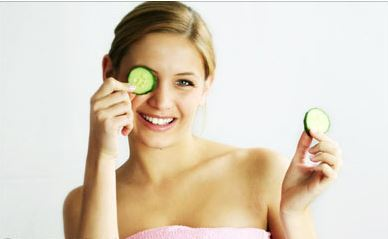 dark circles and cucumber