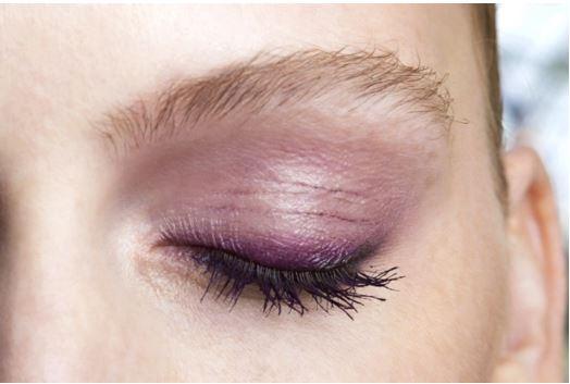 dark purple eyeliner