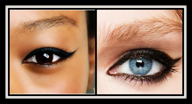 7 Εύκολες ιδέες με eyeliner!