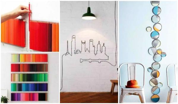 13 Εύκολα DIY διακοσμητικά τοίχου για να φτιάξεις μόνη σου!