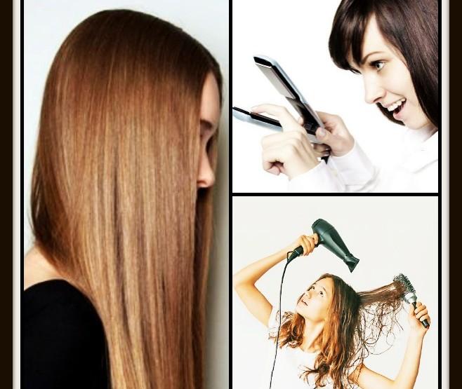 4 Λάθη που κάνεις όταν ισιώνεις τα μαλλιά σου!