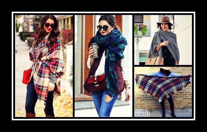 18 Τρόποι να φορέσεις το κασκόλ-κουβέρτα!