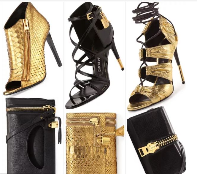 shoes and clutches
