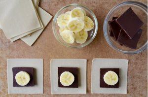 Εύκολη συνταγή για γουόν τον με σοκολάτα και μπανάνα!