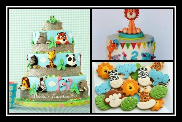 15 Παιδικές τούρτες και cup cakes με θέμα το ζωικό βασίλειο!