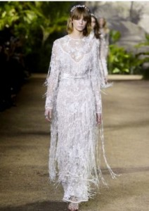 Elie Saab wedding gown