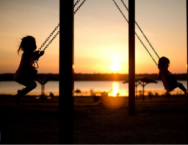 calmness & children