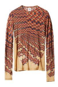 earthy tone blouse