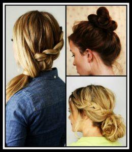10 Τρόποι να φτιάξεις τα μαλλιά σε λιγότερο από 2 λεπτά!