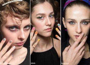 glitter manicure 2016