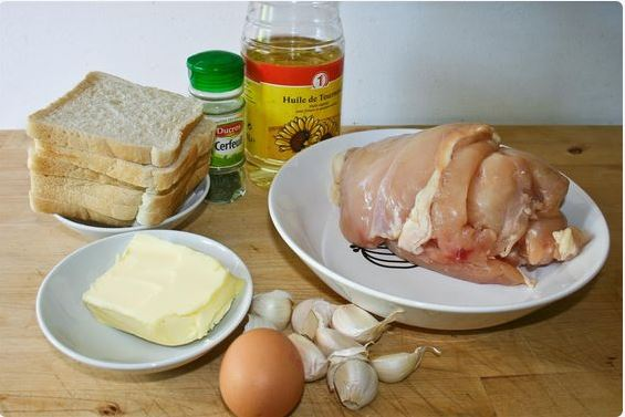 ingredients chicken kiev