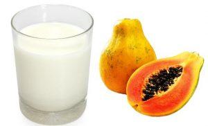 papaya and milk