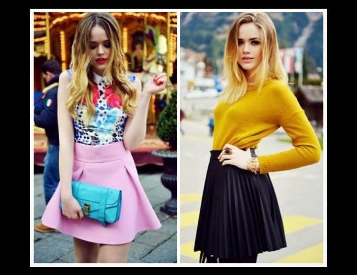 Ποια χρώματα ρούχων κολακεύουν τις ξανθιές!