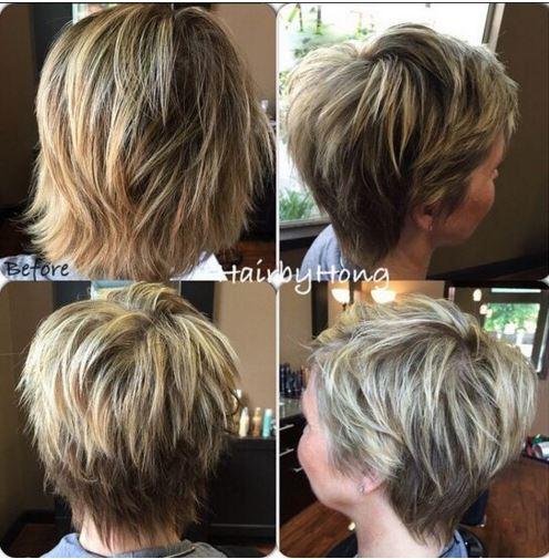 shaggy haircut