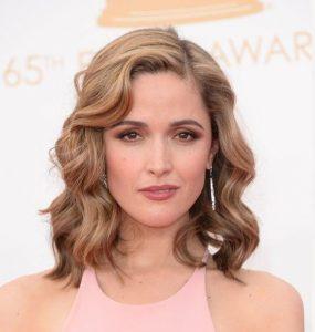 shoulder-length loose curls