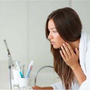 treating blemishes