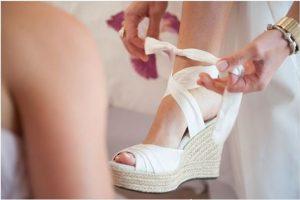 wedges wedding shoes