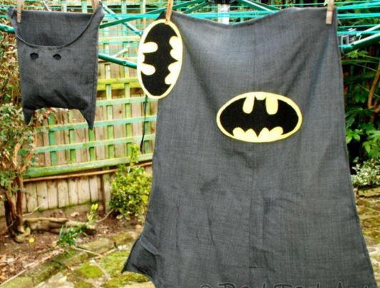 Batman cape and hood