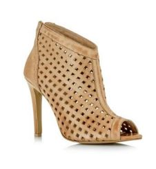 ankle wrap bootie