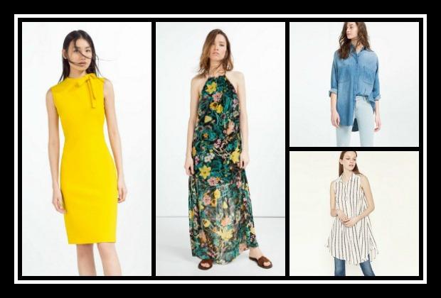Συλλογή γυναικείων ρούχων Zara Άνοιξη - Καλοκαίρι 2016!