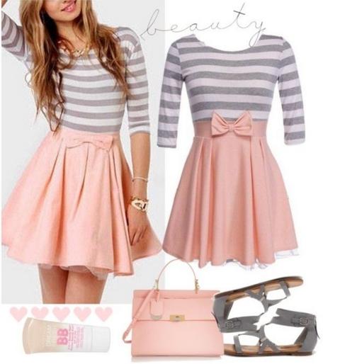 18 Outfits για την Άνοιξη σε ροζ και γαλάζιο χρώμα!  4d119991f7b