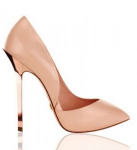 asymmetrical high heel