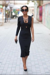 black dress Parle Moi