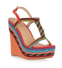 colourful wedges