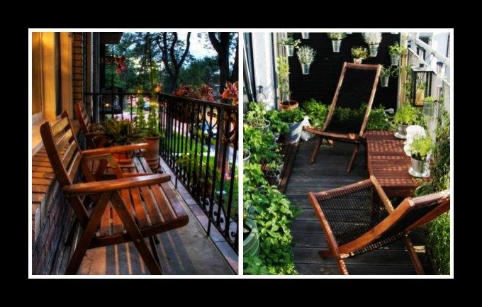 10+1 Ιδέες για να διακοσμήσεις το μικρό μπαλκόνι σου!