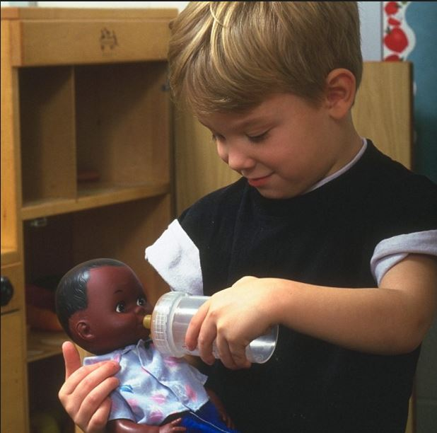 dolls and motor skills