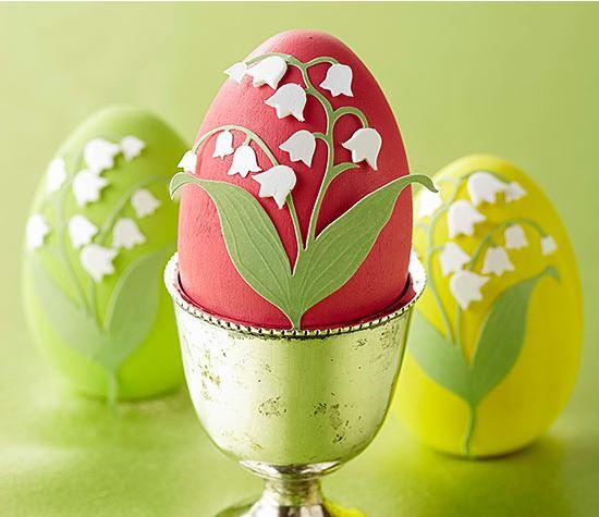 floral eggs